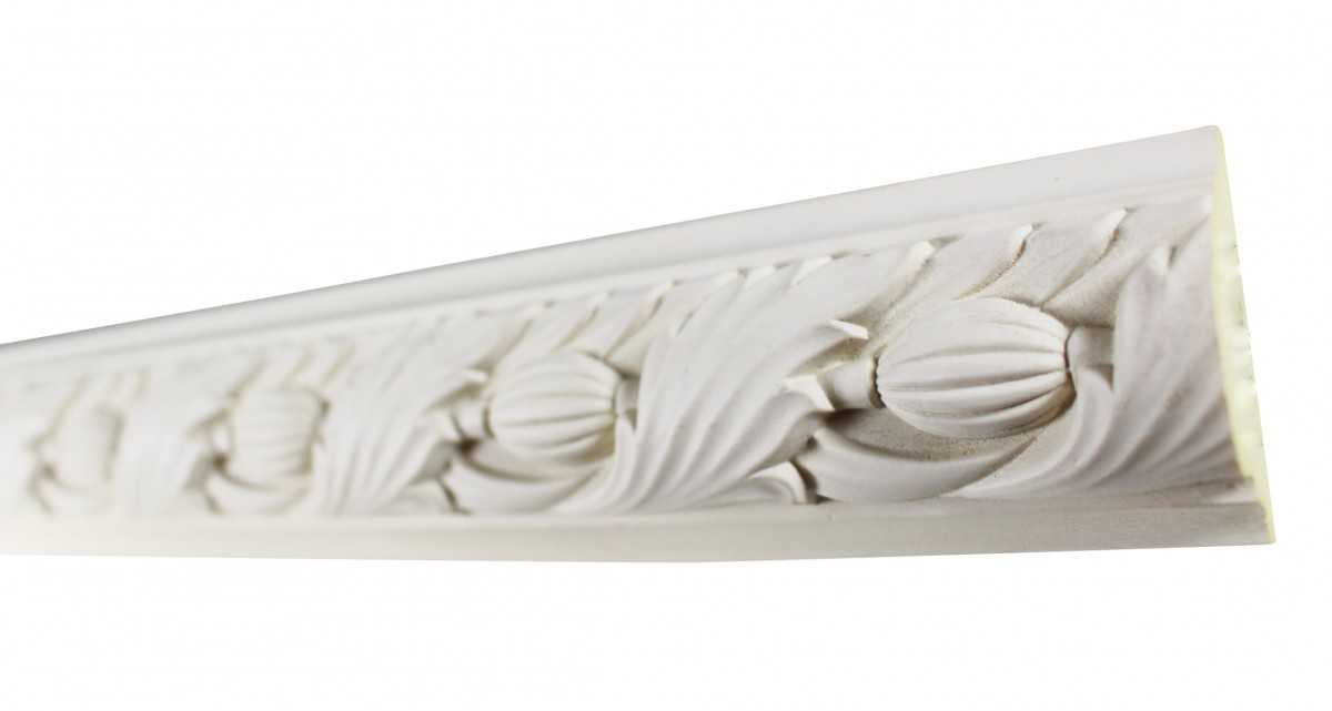 Cornice White Urethane 23.5' Sample of 11700 | Renovator's Supply