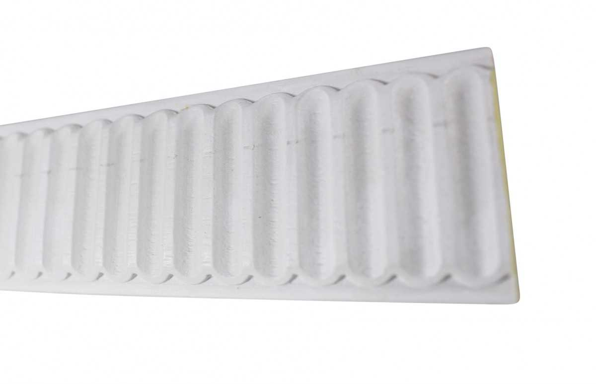 Cornice White Urethane Sample of 20801 19.5' Long | Renovator's Supply