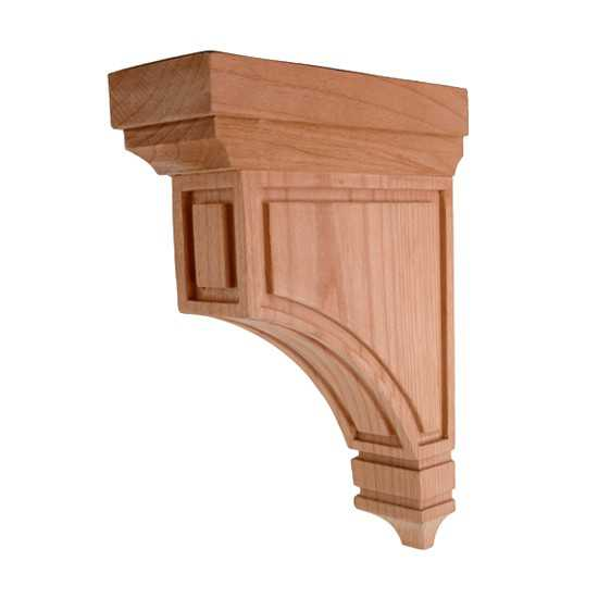Medium Mission Corbel Maple 3 x 9 x 12