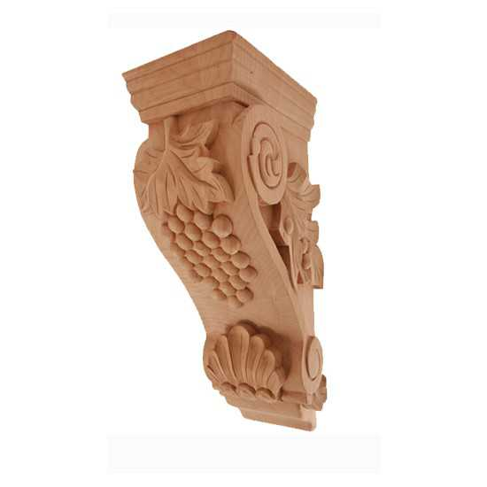 Medium Grape Corbel Cherry 5 x 7 x 14