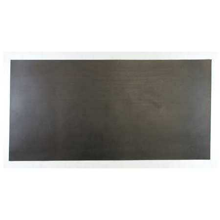 1600-1/16B Rubber, EPDM, 1/16 In Thick, 12 x 24 In