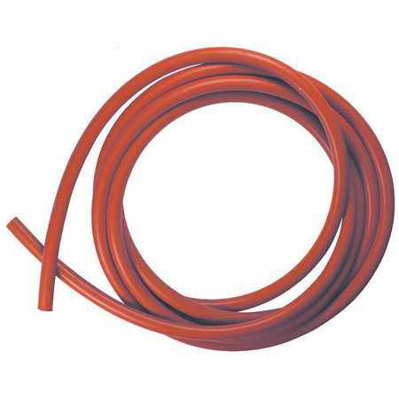 CSSIL-1/4-10 Rubber Cord, Silicone, 1/4 In Dia, 10 Ft