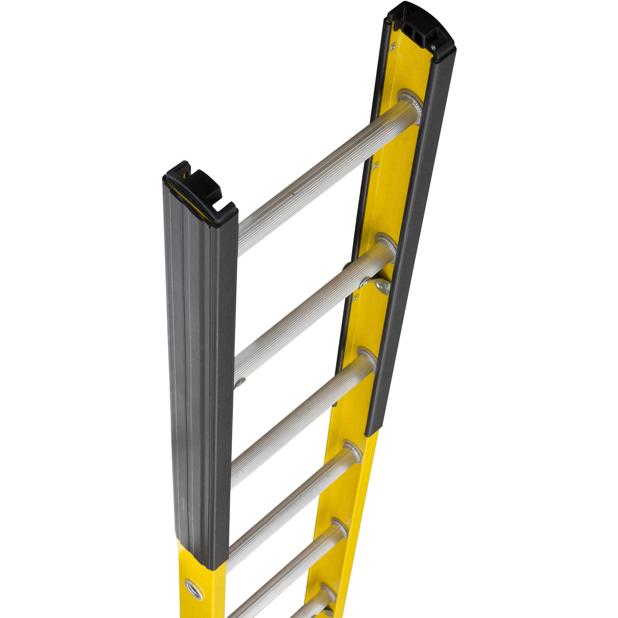 Louisville Ladder FE8912 12 ft. Fiberglass Manhole Ladder, Type IAA, 375 Lbs Load Capacity