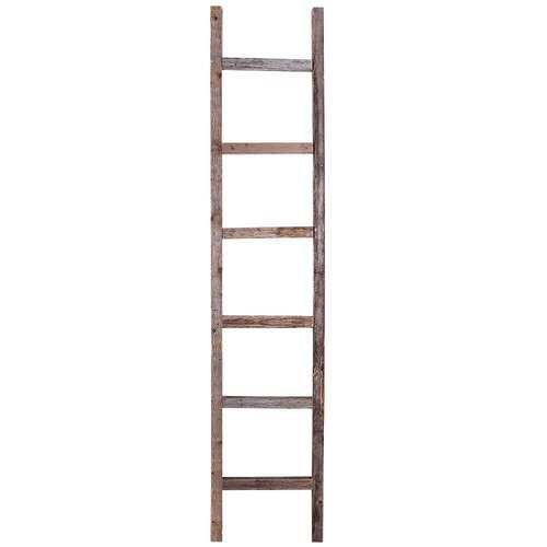 BarnwoodUSA Rustic 5 ft Decorative Ladder