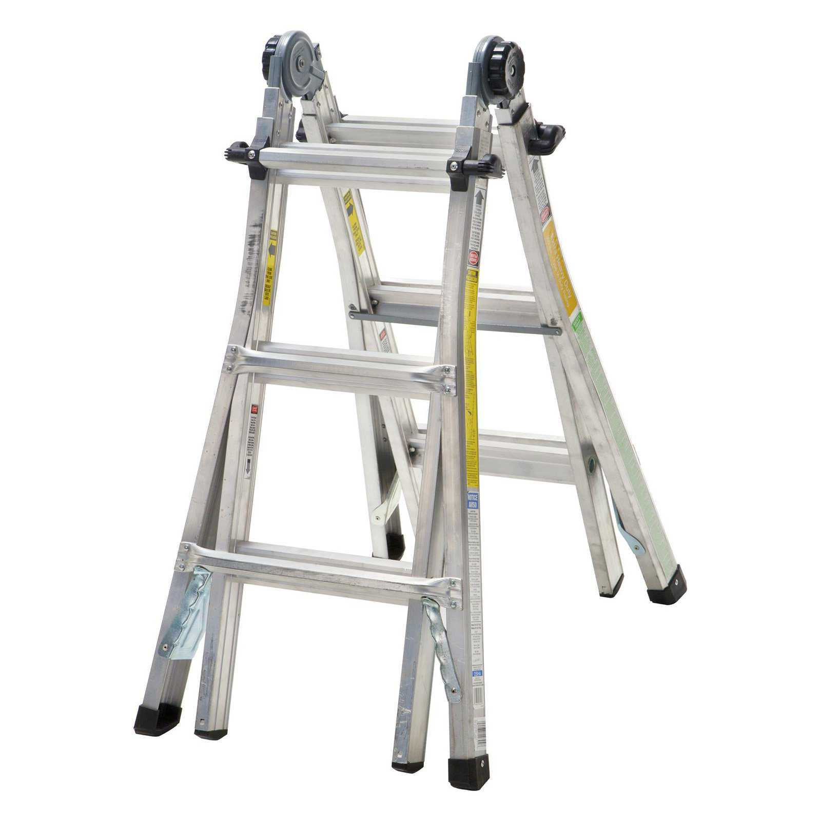 Cosco 18 ft. Reach Aluminum Multi-Position Ladder with 300 lb. Load Capacity Type IA Duty Rating