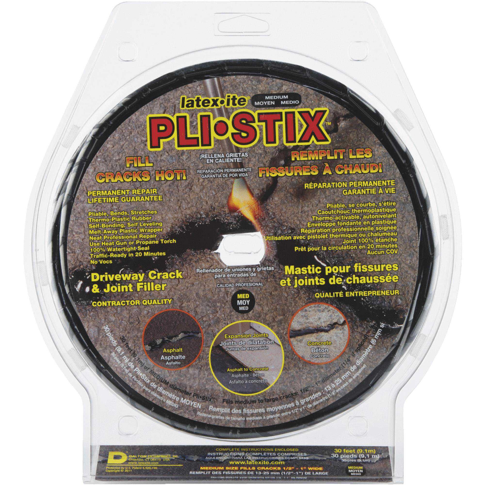 PLI-STIX Asphalt and Concrete Crack Filler