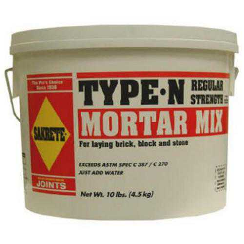 TEXAS INDUSTRIES #5124 10LB Sakrete Mortar Mix