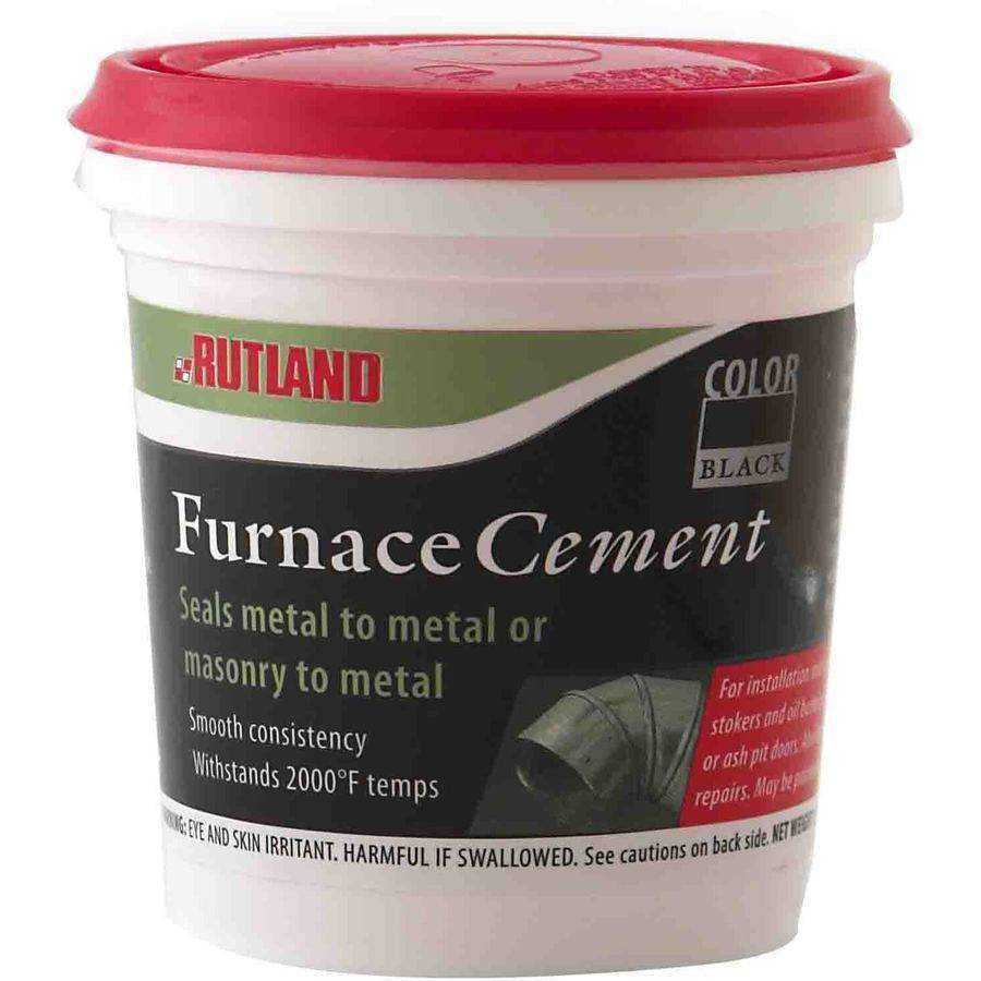 Black Furnace Cement Tub, 16 fl oz
