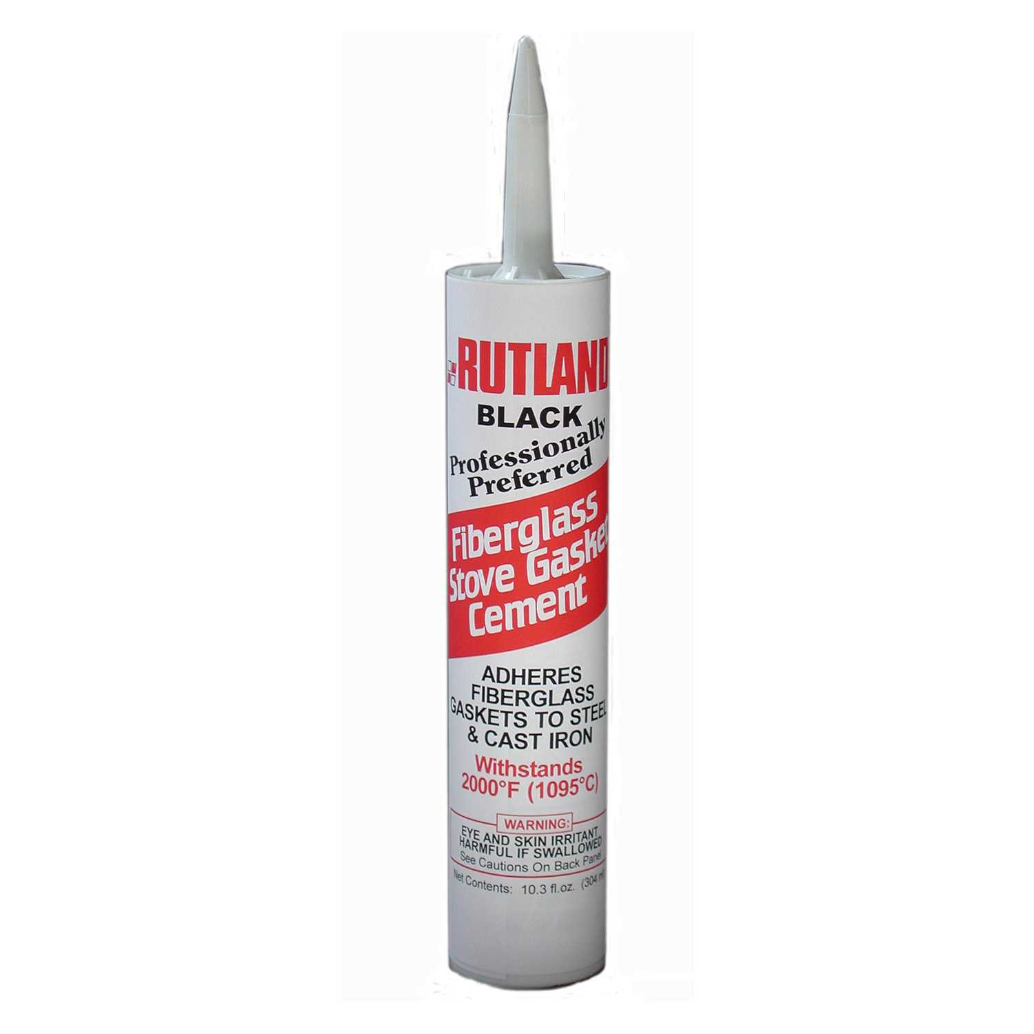 Rutland Fiberglass Gasket Cement (Ez Spread) 10.3 Oz Cartridge