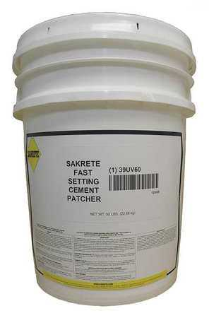 SAKRETE Cement Patch,50 lb.,Pail 120029