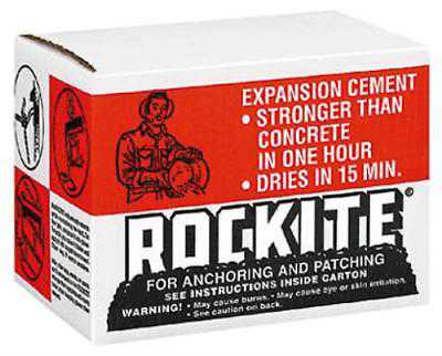 25 LB Carton Rockite Anchoring Cement