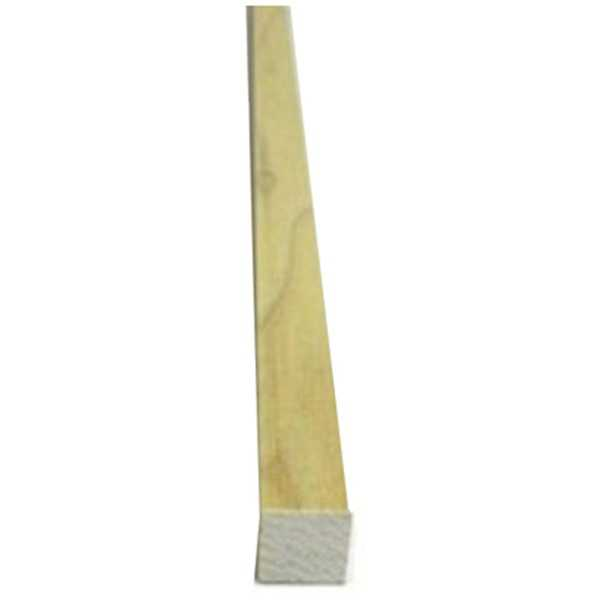5/8X36 Poplar Sq Dowel, Pack of 9