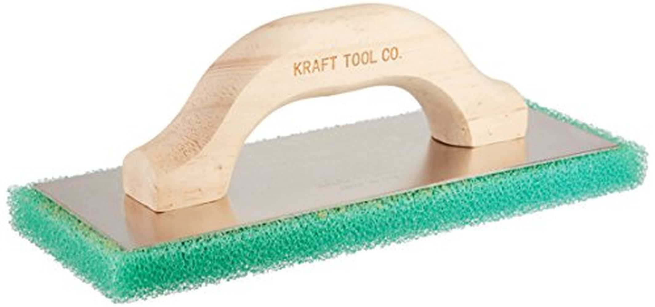 Kraft PL602 Green Coarse Texture Float w/Wood Handle,10x4x3/4'