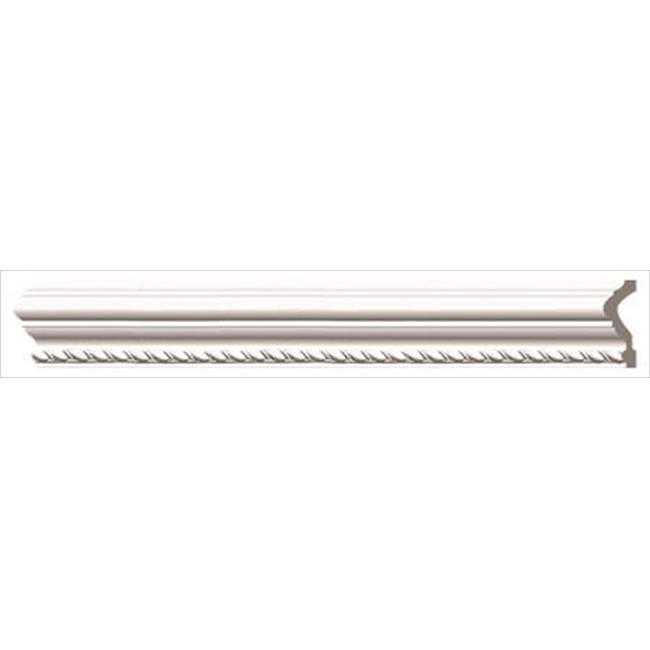 American Pro Decor 5APD10170 96 x 3 in. Ribbon Rope Panel Moulding