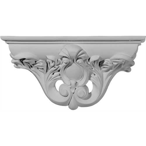 Ekena Millwork Hillsborough 6 5/8''H x 13 1/8''W x 3 3/4''D Decorative Shelf