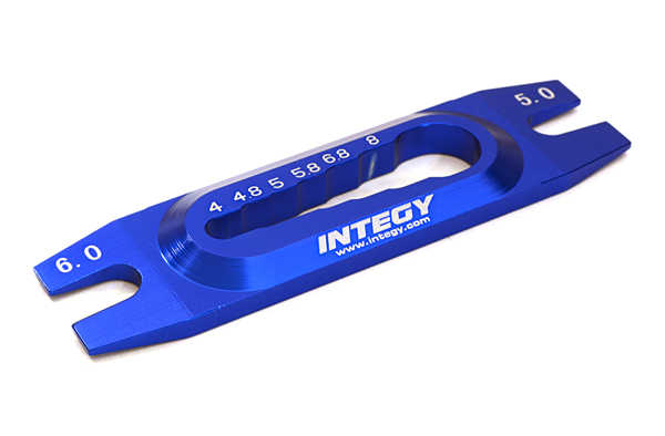Integy RC Toy Model Hop-ups C27471BLUE RC Ball Joint Tool, Turnbuckle Tool & Ball End Remover
