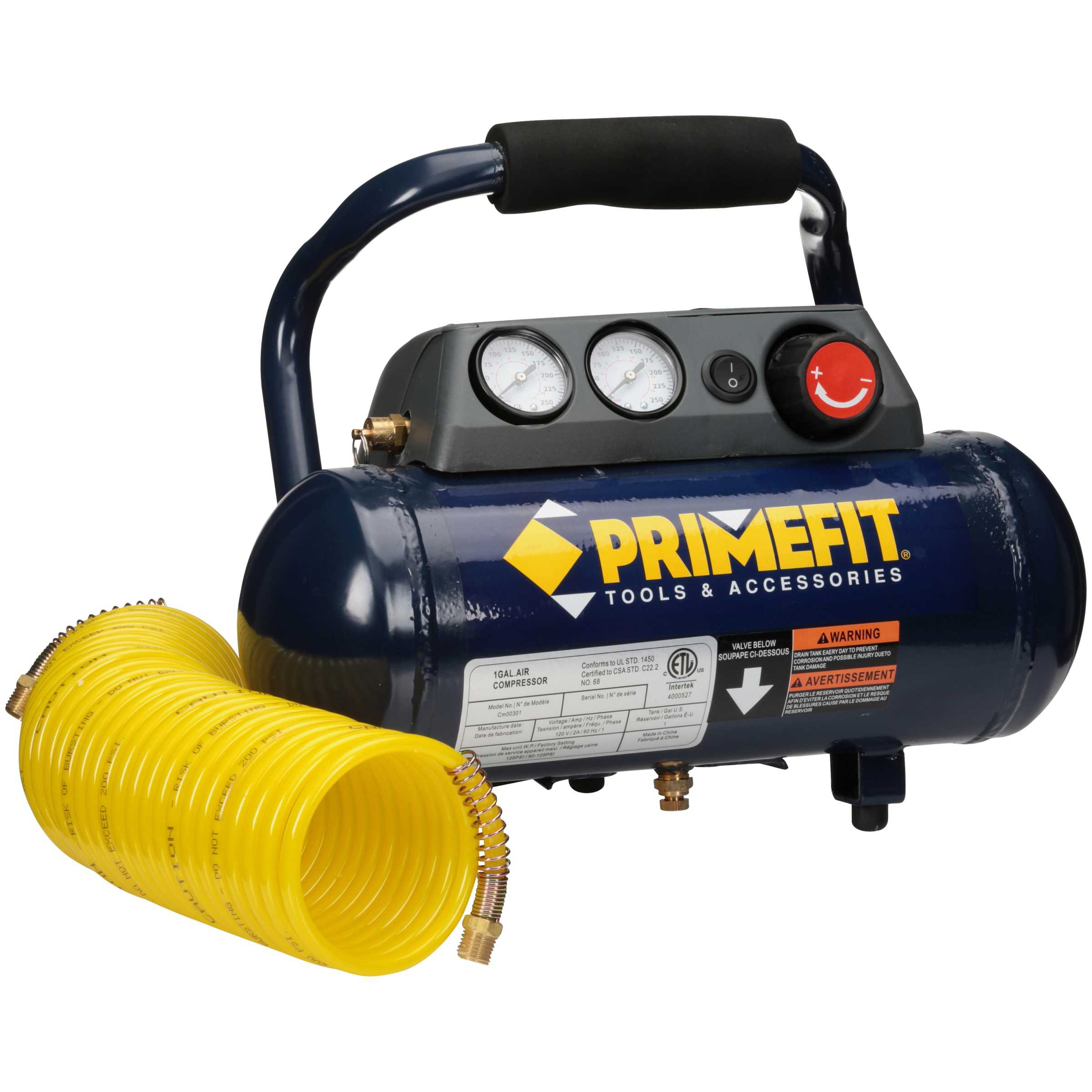 Primefit 1 gal Home Air Compressor