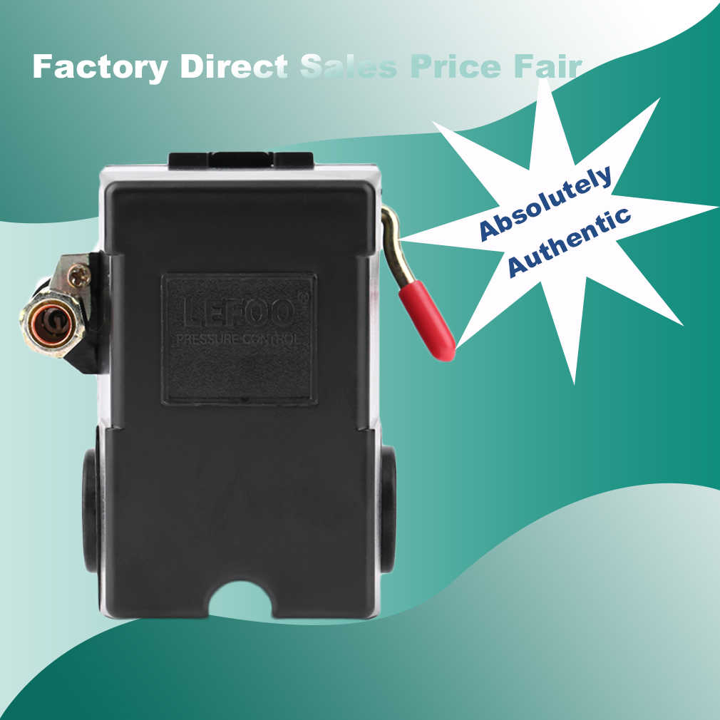 Practical Air Compressor Pressure Switch 95-125PSI 120V/240V 26FLA/156LRA