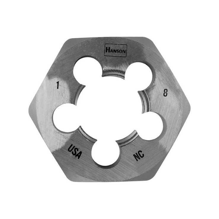 HCS Hex 1-13/16in. Across Flat Die 1in.-8 NC