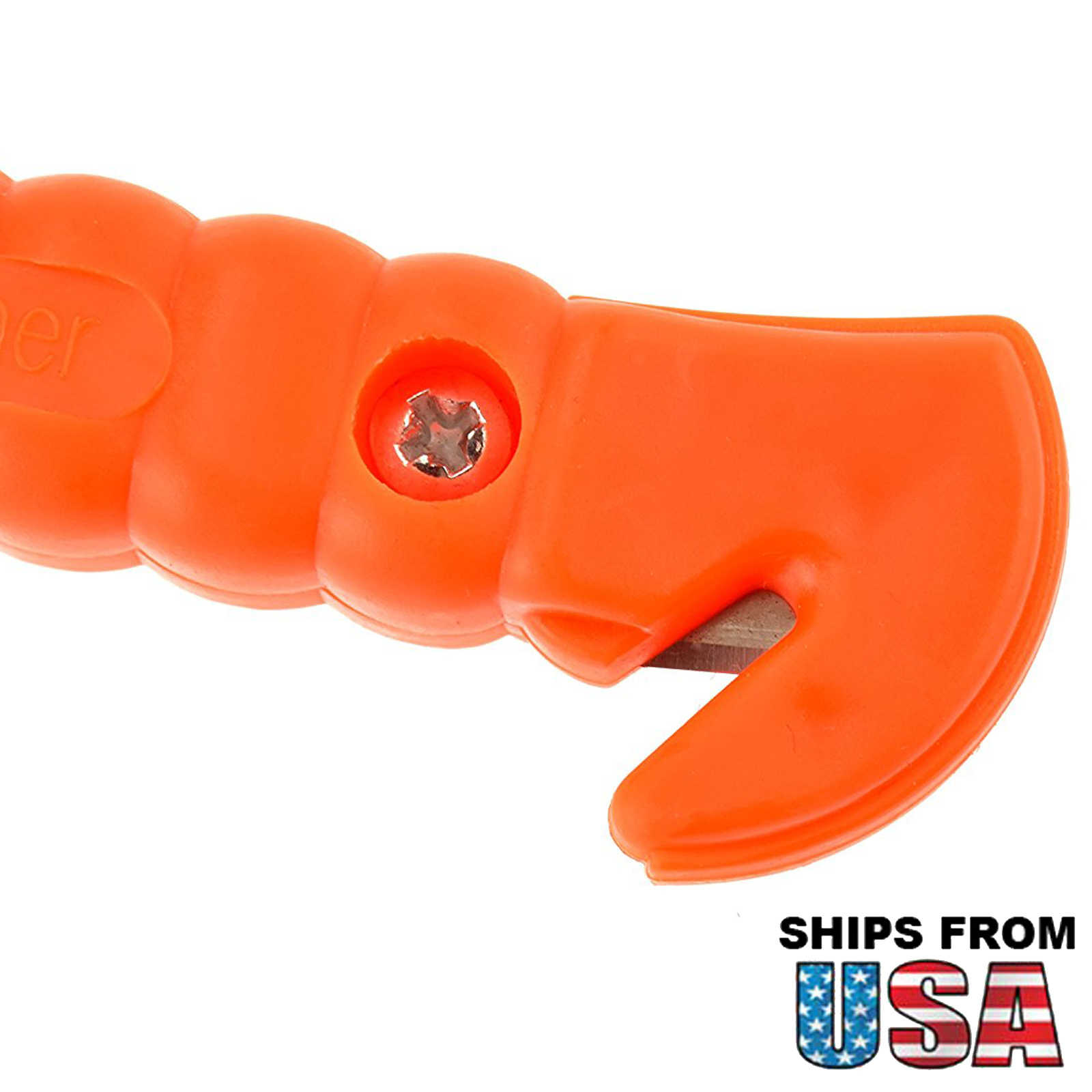 SE EH430 7' Emergency and Safety 2 IN 1 Hammer Orange Color SONA-SE