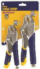 Irwin Fast Release Locking Pliers Set 2 Piece (10Wr, 7Wr)