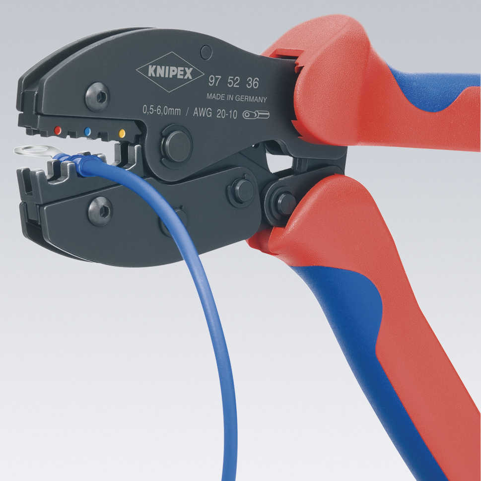 KNIPEX Tools 97 52 36 PreciForce Crimping Pliers