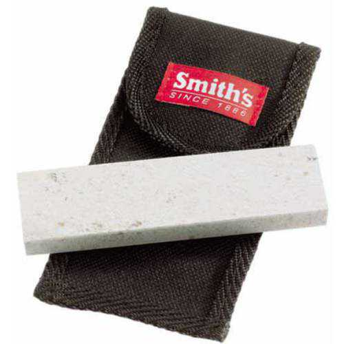 Smiths Arkensas Stone with Pouch, 4'