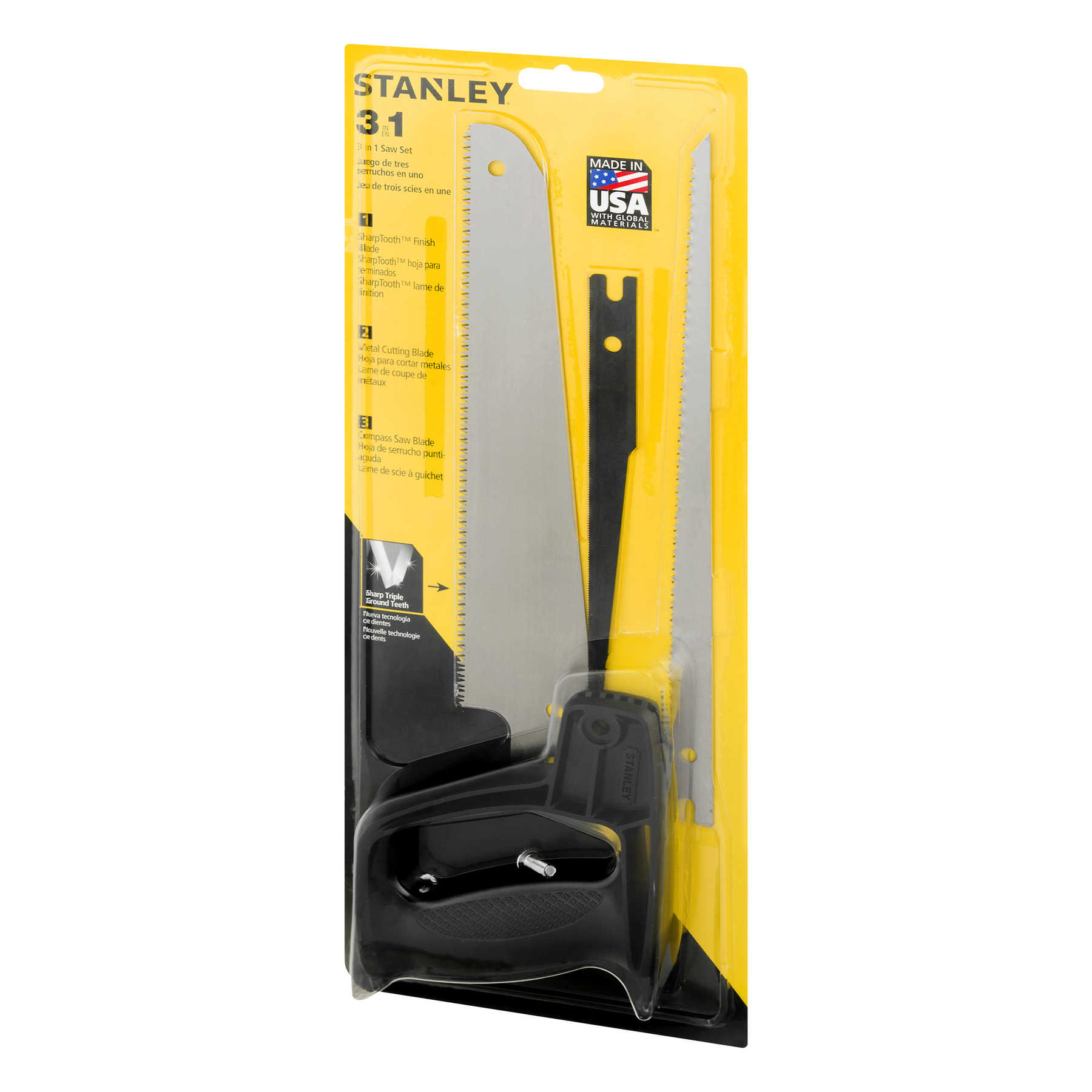 Stanley 3 IN 1 Saw Set, 1.0 CT