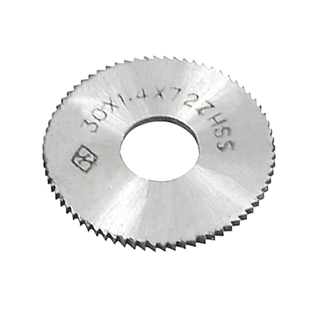 Unique Bargains HSS 72T Toothed Slitting Saw Cutting Tool 30mm x 1.4mm x 10mm