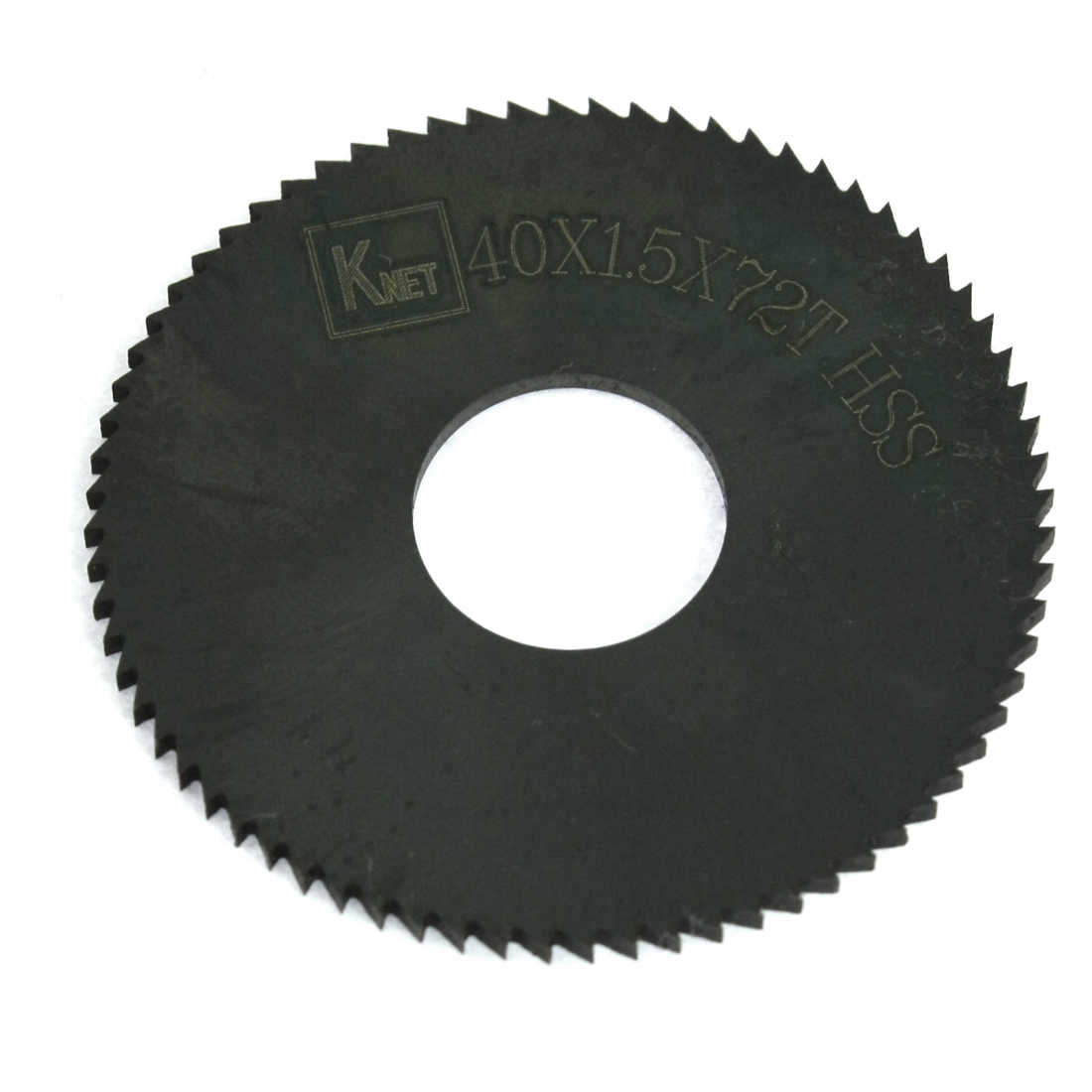 Unique Bargains Hand Tool 72 Teeth Slitting Saw Cutting Blade 40mm x 1.5mm