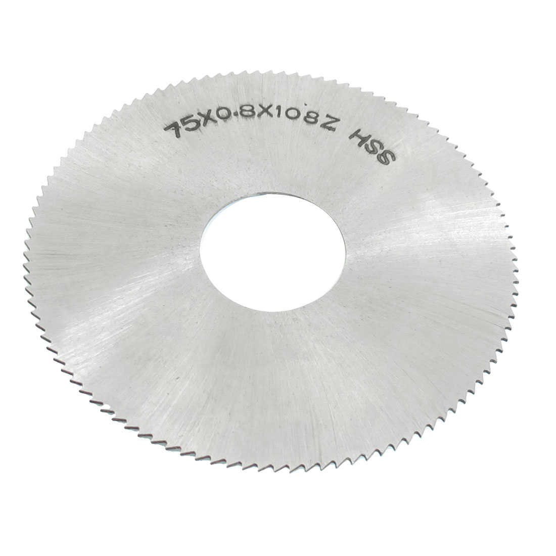 Unique Bargains 2 15/16' x 7/8' x 1/32' Circular Rotated HSS Slitting Saw 108 Teeth 108T