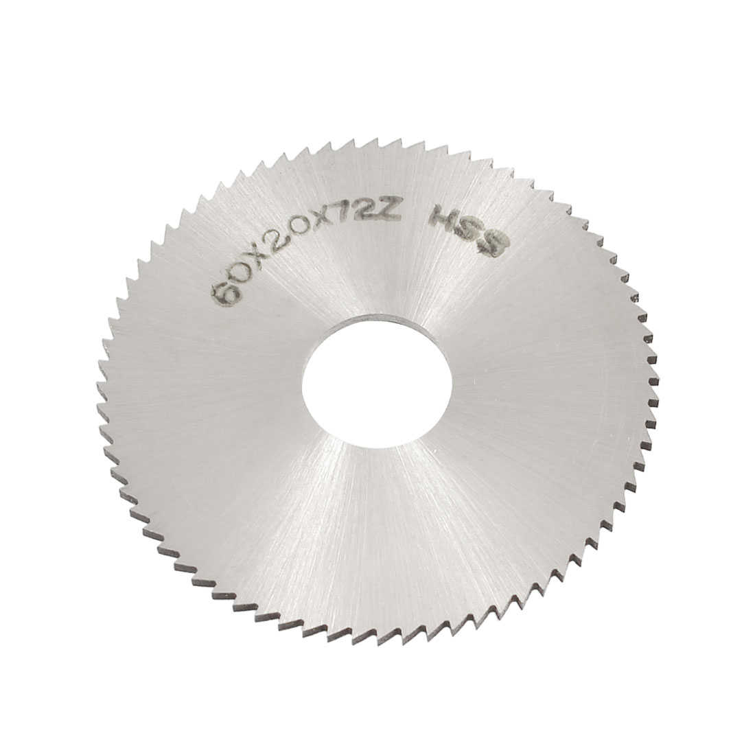 Unique Bargains Silver Tone HSS 60mm x 2mm x 16mm 72T Slitting Saw