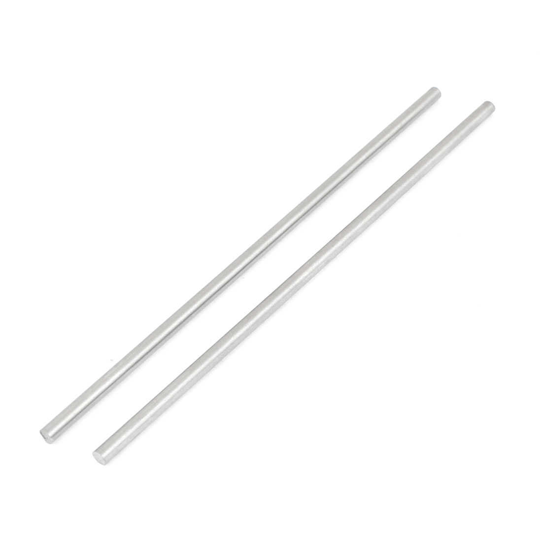 Unique Bargains 2 Pcs HSS High Speed Steel Round Turning Lathe Bars 2.5mm x 100mm