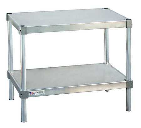 NEW AGE 21536ES30P Fixed Work Table,Aluminum,36' W,15' D G6952531