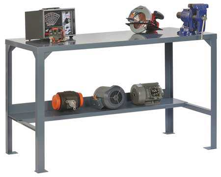 EDSAL WBHD603036 All Welded Workbench, 60W x 30D x 36In H