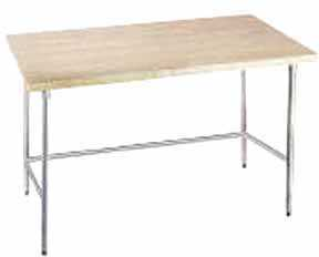 Advance Tabco Work Table 72' x 24' Wide - TH2S-246