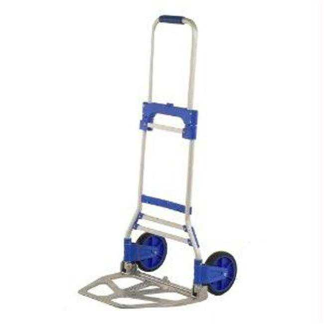Inland Products Inc 11021 Cart Foldable Hand Truck 220Lb Cap 7 inch Wheel