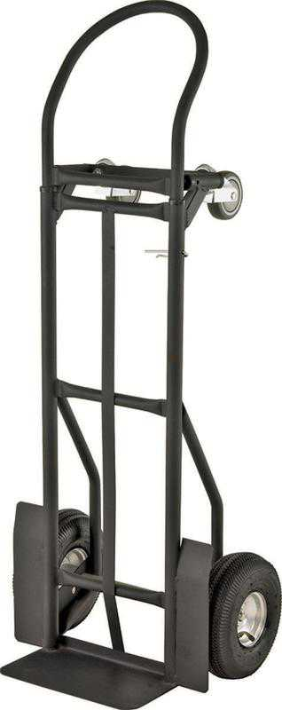 ProSource 0017749 Heavy Duty Hand Truck, Flow Back Handle