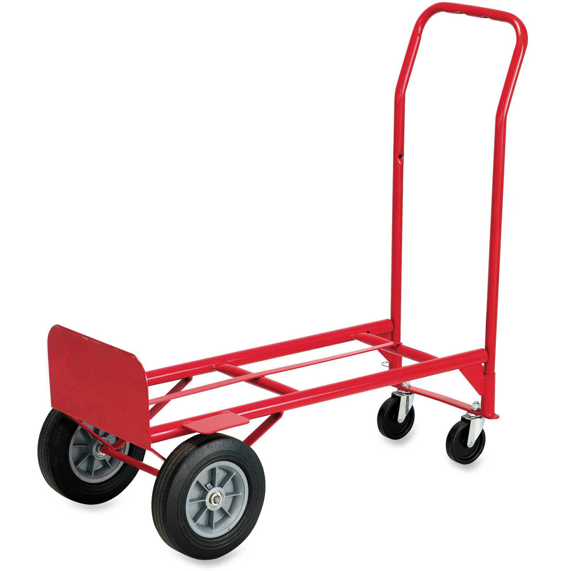 Safco Convertible Hand Truck, Red