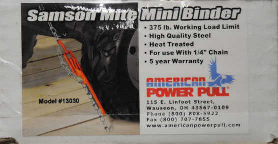 American Power Pull Mini Load Binder