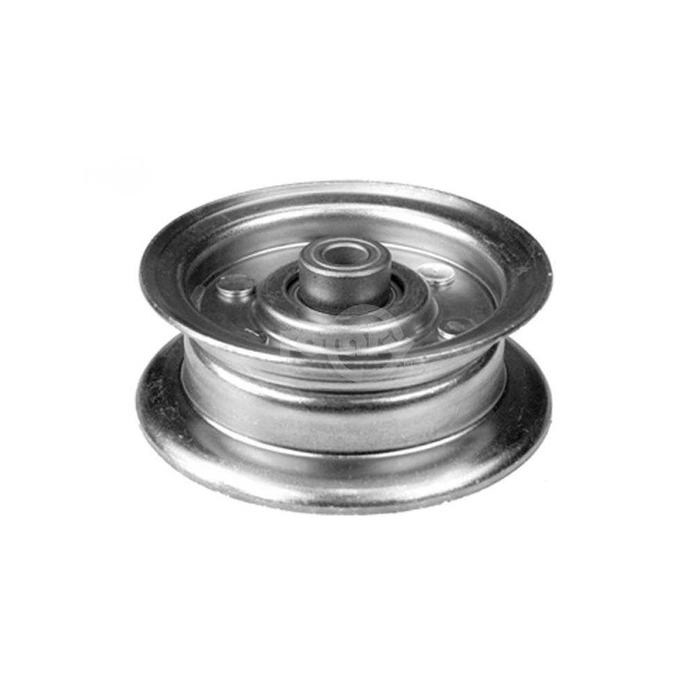 AYP 177968 Flat Idler Pulley. Fits 48' Decks from 2001-UP.