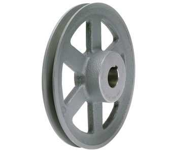 6.93' X 5/8' Single Groove HVAC Pulley # AL74X5/8
