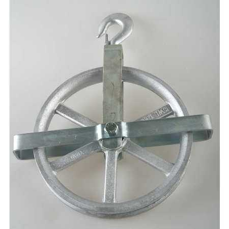 Peerless 5-00-053195- Fibrous Rope Well Wheel Pulley Block