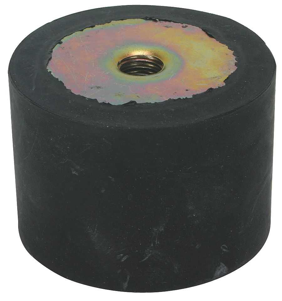 Vibration Isolator, 210 Lb Max, 1/4-20 - 2NPD8
