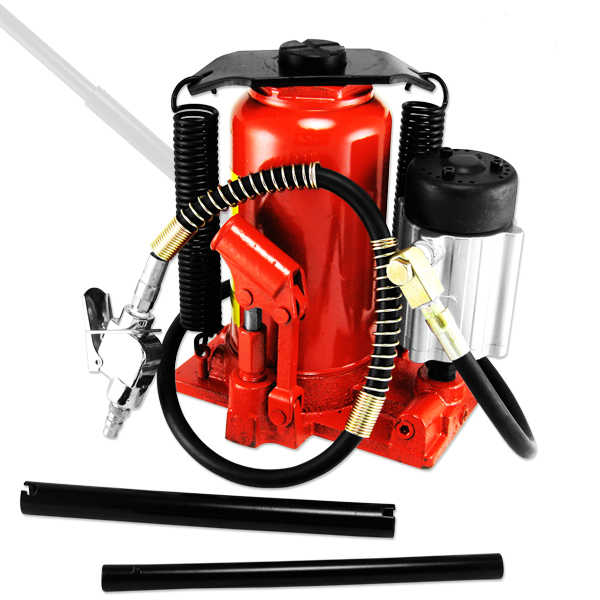 20 Ton Air & Manual Hydraulic Bottle Jack